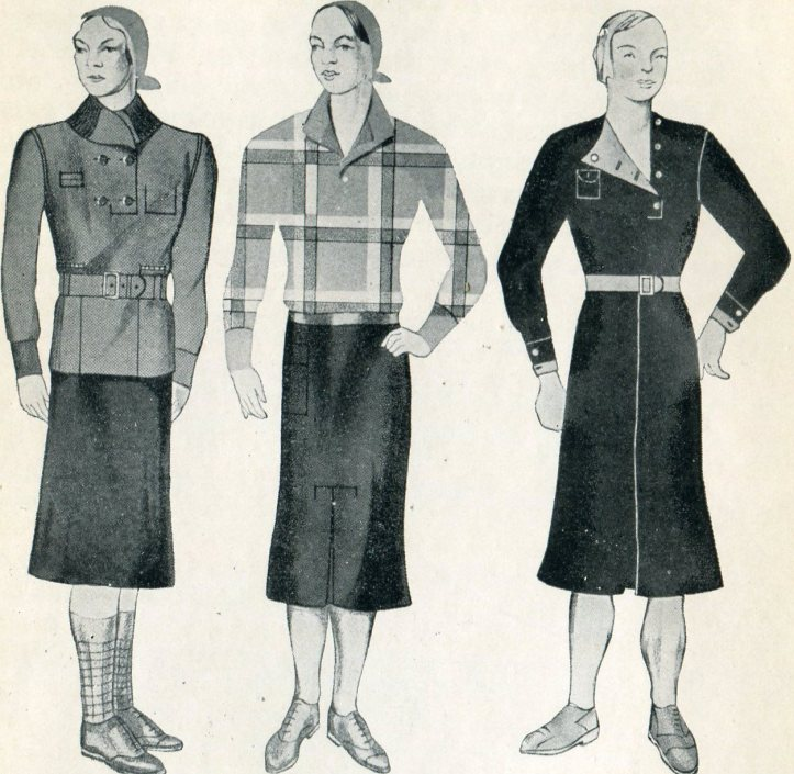 Patterns of the Soviet Uniform Dress (Byt Costume)